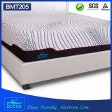 Roll up comprimido OEM colchón king size 30cm de altura con gel de espuma de memoria y cubierta de tejido de punto