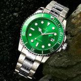 رف تصميم عادة علامة تجاريّة ساعة, [ميك] رخيصة سعر ساعة مع [كلندر72818] مزدوجة