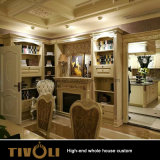 Hölzerne Hauptmöbel-vollständiger Haus-Entwurf Tivo-030VW