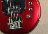 Musique de Hanhai/guitare basse électrique rouge avec 4 chaînes de caractères (Bongo4)