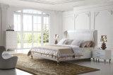 تصميم جديدة أنيق حديثة [جنوين لثر] سرير ([هك1209]) لأنّ غرفة نوم