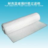 Nicht brennbare Hochtemperaturfilter-Media-Fiberglas-Luftfilter