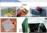 Ventana de desplazamiento del PVC con la pantalla de la mosca
