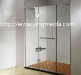 簡単な方法デザインステンレス鋼のガラスドアのアクセサリの浴室のくねりKnighthead