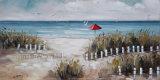 抽象的な景色オイルの芸術の絵画