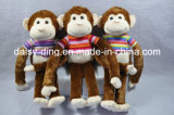 Plush Small Monkey with Soft Material