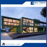 China fez casas de contentores de baixo custo, casa portátil de venda a quente, kit modular 20FT