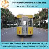 Большинств популярная электрическая тележка еды доставки с обслуживанием