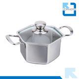 Acciaio inossidabile di alta qualità 304 che cucina il POT della minestra del POT