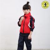 La escuela de los niños del chándal de poliéster, traje de pista, juego de los deportes