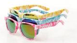 Neues Modell-Sonnenbrille-Form-Spiegel-Blumen-Sonnenbrillen des Großverkauf-2016