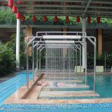 Agua de la piscina masaje del cuerpo de ducha y bañera de hidromasaje de acero inoxidable