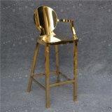 연회 결혼식 호텔 식사를 위한 호화스러운 현대 금 스테인리스 의자 (YCX-SS27)