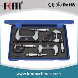 С технологией mmx0.010-75мм 3ПК установлена за микрометр с