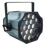19PCS LEDの同価のズームレンズの洗浄結婚式ライト