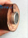 Tubo de aluminio extruido Fin de Cooler, Enfriador