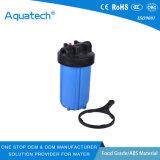 5 10 custodia di filtro trasparente bianca blu dell'acqua da 20 pollici