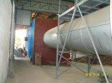 Secador de cilindro para a microplaqueta de madeira