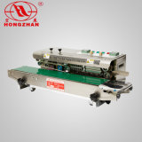 Continua horizontal de la junta selladora de banda de codificación de acero