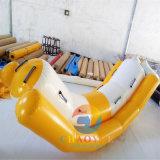 Agua inflable Saturno, Totter del agua, juguetes inflables del juego