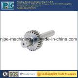 CNC do OEM que faz à máquina o eixo do pinhão do aço inoxidável
