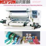 Máquina de inspeção e rebobinação de PVC de alta velocidade da série Fhya-B