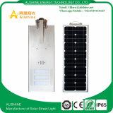 Lumière solaire de lampe de lumières de jardin de rue solaire de l'éclairage 50W avec le détecteur de PIR