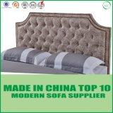 Doppia base di cuoio moderna per la mobilia della camera da letto