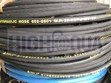 Cloth / surface lisse noir et le flexible hydraulique de coloré 1SN 2SN