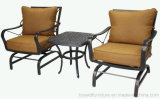 Best Fashion Muebles de jardín de estilo americano clásico Hotel Bistro Aluminum Deep Seating Chair