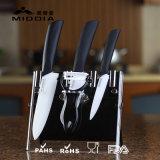 Cuisine Ensemble de blocs de couteaux en céramique Outils de cuisson