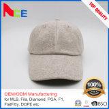 2017流行の純粋なカラーカスタムスエードファブリック冬の野球帽