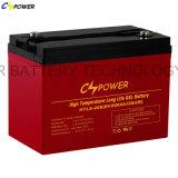 Bateria de alta temperatura 6V 420ah do gel da longa vida de Cspower anti