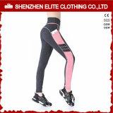 A granel de alta calidad personalizado Fitness pantalones con bolsillos (ELTLI-126)