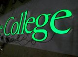 Alta qualidade 3D LED Lit Resin / Acrílico / Vinly Letters Sign