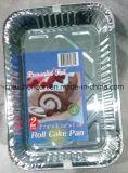 冷凍食品の/Snack/BBQのローストまたはケーキの焼き皿のための世帯のアルミホイルの皿