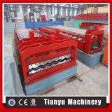 Rullo d'acciaio delle mattonelle di colore del tetto del metallo delle mattonelle di punto che forma macchina 1100