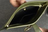 Borsa popolare del cuoio di stile di svago del sacchetto di frizione della borsa delle donne dell'unità di elaborazione del sacchetto dell'anello del metallo