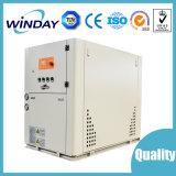 Refrigerador industrial con el tipo del agua y del desfile