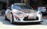 Capot de capot de vitesse de charge de fibre de carbone pour Toyota Gt86 Ft86
