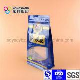 Sacchetto di plastica diritto dello spuntino con la chiusura lampo