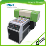 Il Ce A1 approvato si raddoppia direttamente stampante a base piatta UV di stampa capa