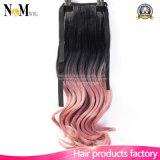Выдвижение человеческих волос цвета волос Hairpieces/#613 девственницы DIY евроазиатское белокурое