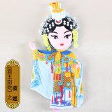 Traditioneel Chinees Symbool, Koelkast Magnnet van de Reeks van de Opera de Zachte Rubber