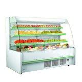Affichage commercial de fruits et légumes réfrigérés Cas d'affichage
