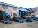 500kg hydraulische 9m Scissor Aufzug (SJZ0.5-9)