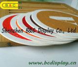 Coasters da forma redonda, Coasters da cerveja, esteiras de lugar com GV (B&C-G106)