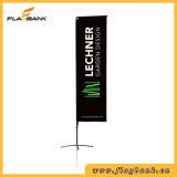 bandeira retangular de anúncio da impressão de Digitas da fibra de vidro de 3.4m/bandeira do vôo