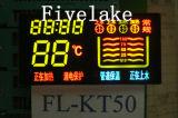 Пользовательский светодиодный дисплей панели управления для водяного нагревателя (KT50)