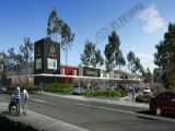 Neuer Art-Stahlkonstruktion-Supermarkt